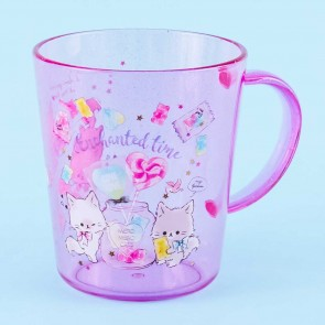 Enchanted Time Mero Cats Glittery Cup
