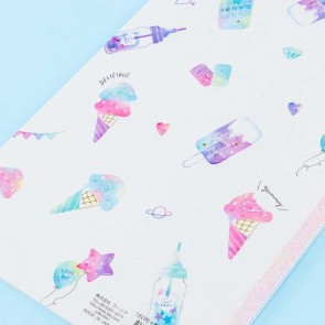 Fresh Mellow Candy Sweet Notebook