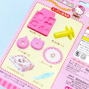 Hello Kitty Clay Donut Shop DIY Molding Kit