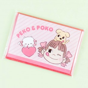 Milky Peko-Chan & Poko Greeting Card Set