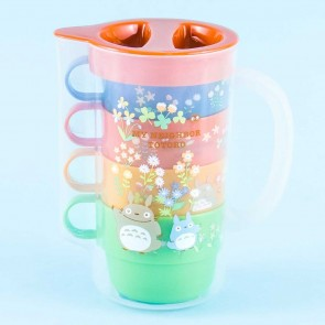 My Neighbor Totoro Flowery Pitcher & Cup Set