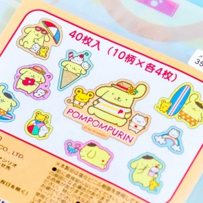 Pompompurin Summer Fun Sticker Flakes
