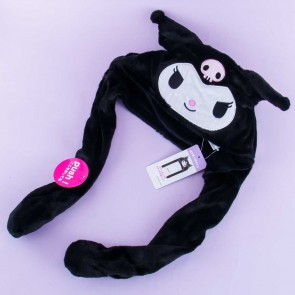 Fluffy Kuromi Hat With Movable Ears