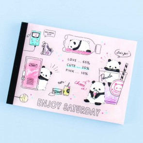 Enjoy Saturday Panda Notepad