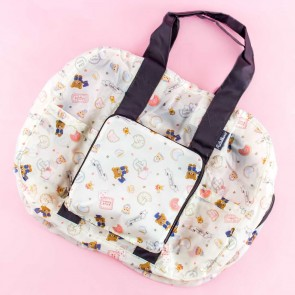 Rilakkuma In Wonderland Folding Boston Bag