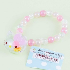 Hello Kitty Flower Bead Bracelet