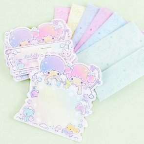 Little Twin Stars Bubble Bath Greeting Card Pack