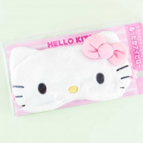 Hello Kitty Fluffy Eye Mask With Heat Pad