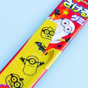 Halloween Minions Long Sakeru Peeling Gummy - Lemon