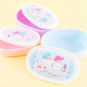 Little Twin Stars Music Time Oblong Bento Set - 3 pcs