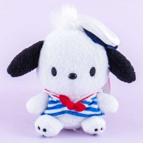 Pochacco Blue Sailor Plushie Charm - Medium