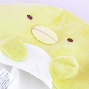 Sumikko Gurashi Fluffy Hat With Movable Hands - Penguin