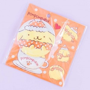 Pompompurin Winter Outfit Badge