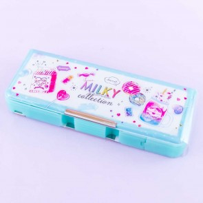 Sweet Milky Collection Double Sided Pencil Case