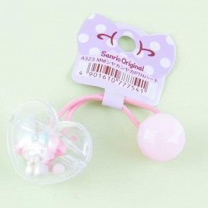 My Melody Clear Heart Hair Tie