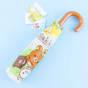 Rilakkuma Honey Forest Portable Foldable Umbrella