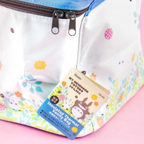 My Neighbor Totoro Flower Insulated Thermal Lunch Bag