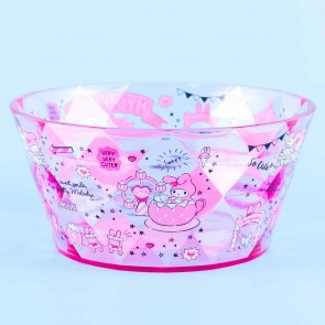 My Melody Strawberry Diamond-Cut Accessory Bowl