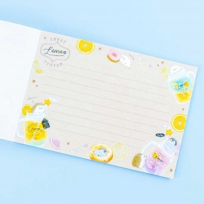 Minimal Parlor Lemon Yum Yum Notebook