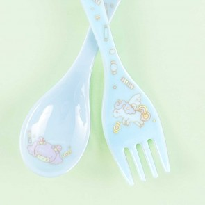Aiko's Magical Unicorn Spoon and Fork Set
