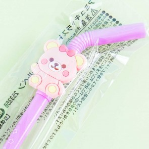 Nuikuma No Chikku Straw Gel Pen - Chikku