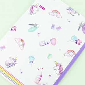 For You Unicorn Rainbow Notebook