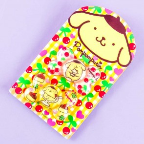 Pompompurin Cherry Dessert Hair Tie Set