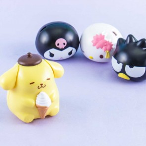 Sanrio Characters Capchara 6 Big Head Figure Gachapon