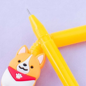 Ichi Ni No Corgi Straw Gel Pen - Ichi