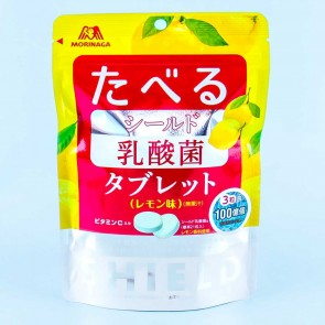 Morinaga Shield Lactic Acid Bacteria Tablets - Lemon