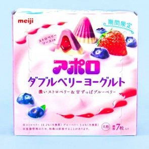 Meiji Apollo Double Berry Yogurt Chocolates