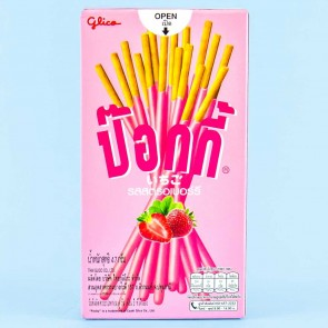 Pocky Biscuit Sticks - Strawberry