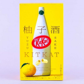 Kit Kat Yuzu Sake Chocolates