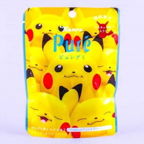 Kanro Puré Premium Gummy - Pokemon Tropical Fruit & Cola