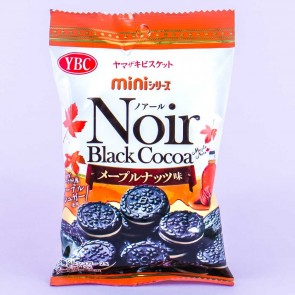 Noir Black Cocoa Mini Cookie Sandwiches - Maple Nuts