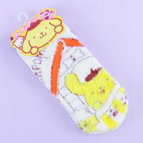 Pompompurin Playful Fluffy Socks