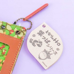 My Neighbor Totoro Leafy Susuwatari Double Card Case