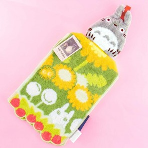 My Neighbor Totoro Strawberries & Flowers Hanging Hand Towel
