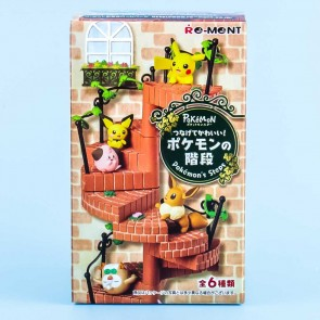 Re-Ment Pokemon's Steps Miniature With Gum