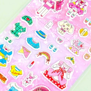 Healin' Good Pretty Cure Dress-Up Puffy Stickers - Cure Grace