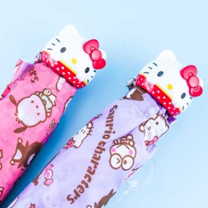 Hello Kitty Big Head Portable Foldable Umbrella