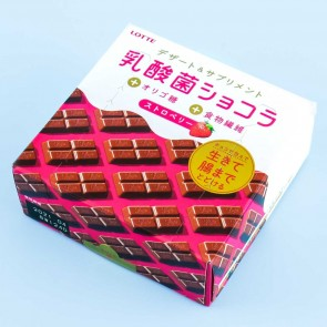 Lotte Lactic Acid Bacteria Chocolates - Strawberry
