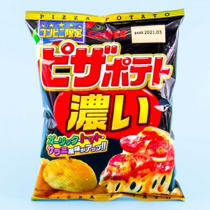 Calbee Potato Chips - Rich Pizza