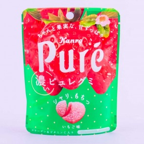 Kanro Pure Gummies - Strawberry