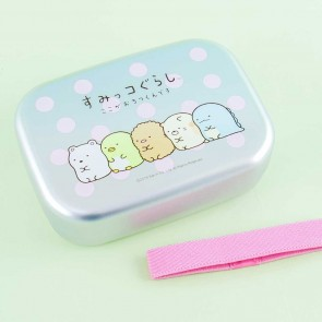 Sumikko Gurashi Line Up Polka Dots Aluminum Lunch Box
