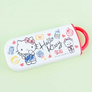 Hello Kitty Scribbles Utensil Set