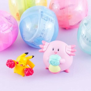 Pokémon Everyone Cheering Mascot in Gachapon Capsule