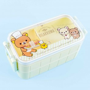 Rilakkuma Delicious Time Double Layer Bento Box