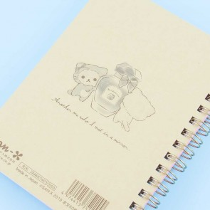 Korilakkuma Beauty Mirror Spiral Notebook