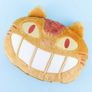 My Neighbor Totoro Catbus Fluffy Head Cushion
